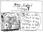 Angie\'s rock introduces you to New England College.