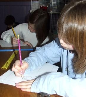 Bath Village School: Scenes of Comics Creation