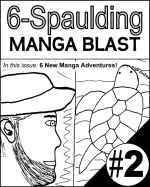 Manga Blast issue cover.