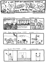Henniker: A Brief History of World War II (in Comic Strips) (page 1)