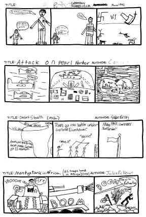 Henniker: A Brief History of World War II (in Comic Strips)